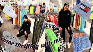 COME THRIFTING WITH ME!! FINDING URBAN OUTFITTERS DUPES!!