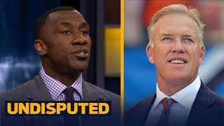 Shannon Sharpe on John Elway's search to find the right QB in Denver | UNDISPUTED