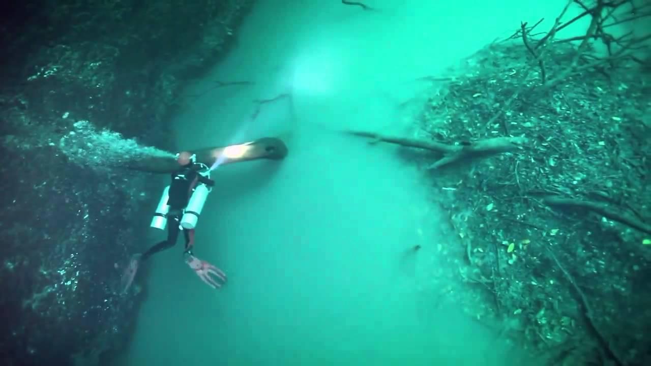 Vídeo: Así es el misterioso río bajo península de Yucatán