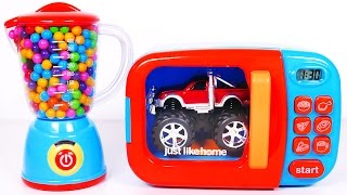Monster Truck Candy Microwave and Much More Toy Vehicles for Kids