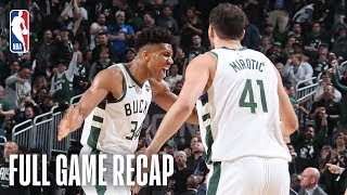 CELTICS vs BUCKS | Milwaukee Seeks First ECF Berth Since 2001 | Game 5
