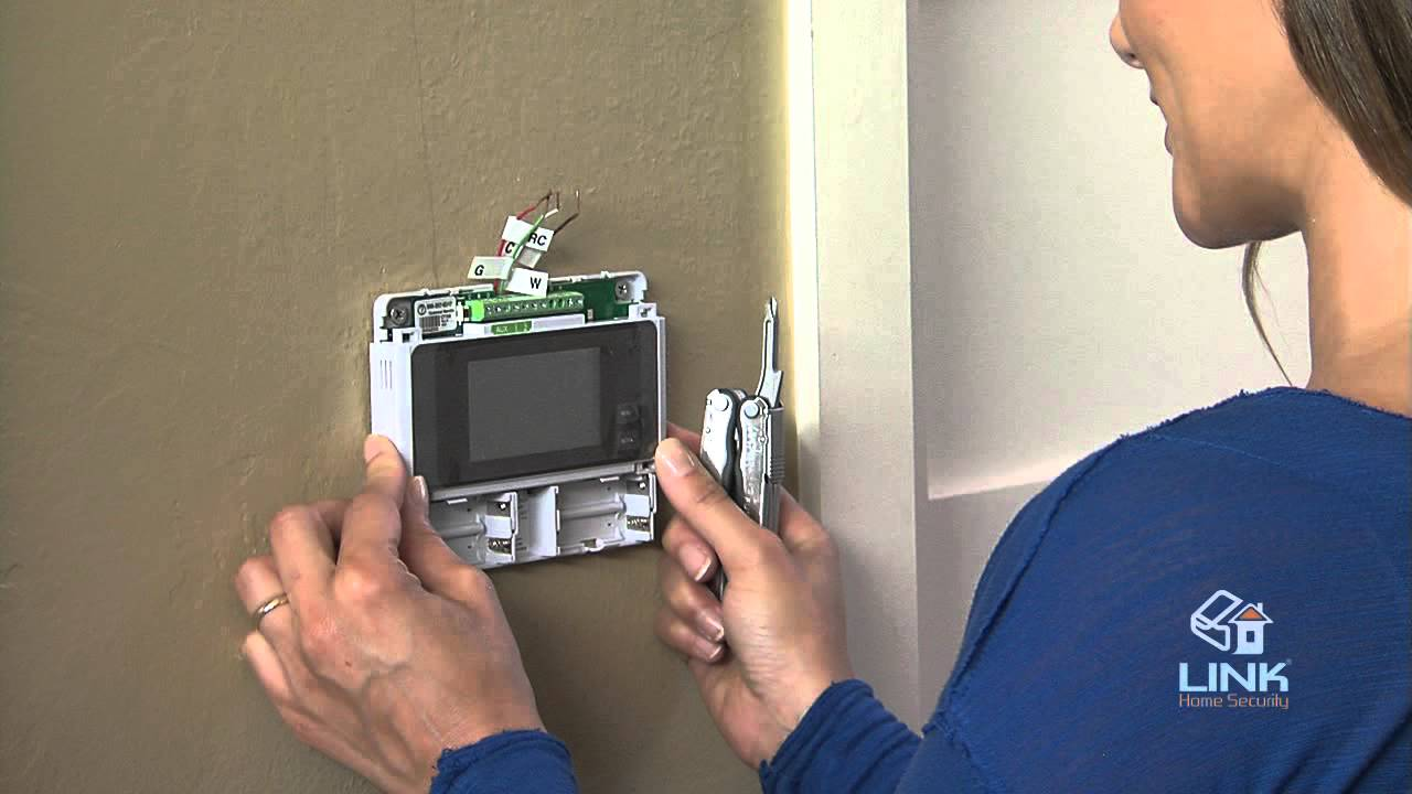 How To Install Ct100 Z Wave Thermostat Link Home Security