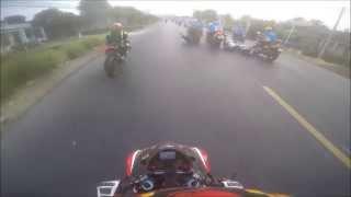 Clip tại nạn môtô gây chết người tại giải đua xe đạp nữ quốc tế Bình Dương ngày 1-3-2015