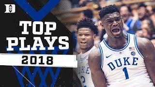 Duke Basketball: Top 10 Plays of 2018!