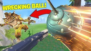 Why Wrecking Ball Is My FAVOURITE Hero!  [Overwatch]