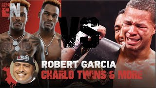 ROBERT GARCIA ON CHARLO Twins, ROSARIO AND MORE | EsNews Boxing