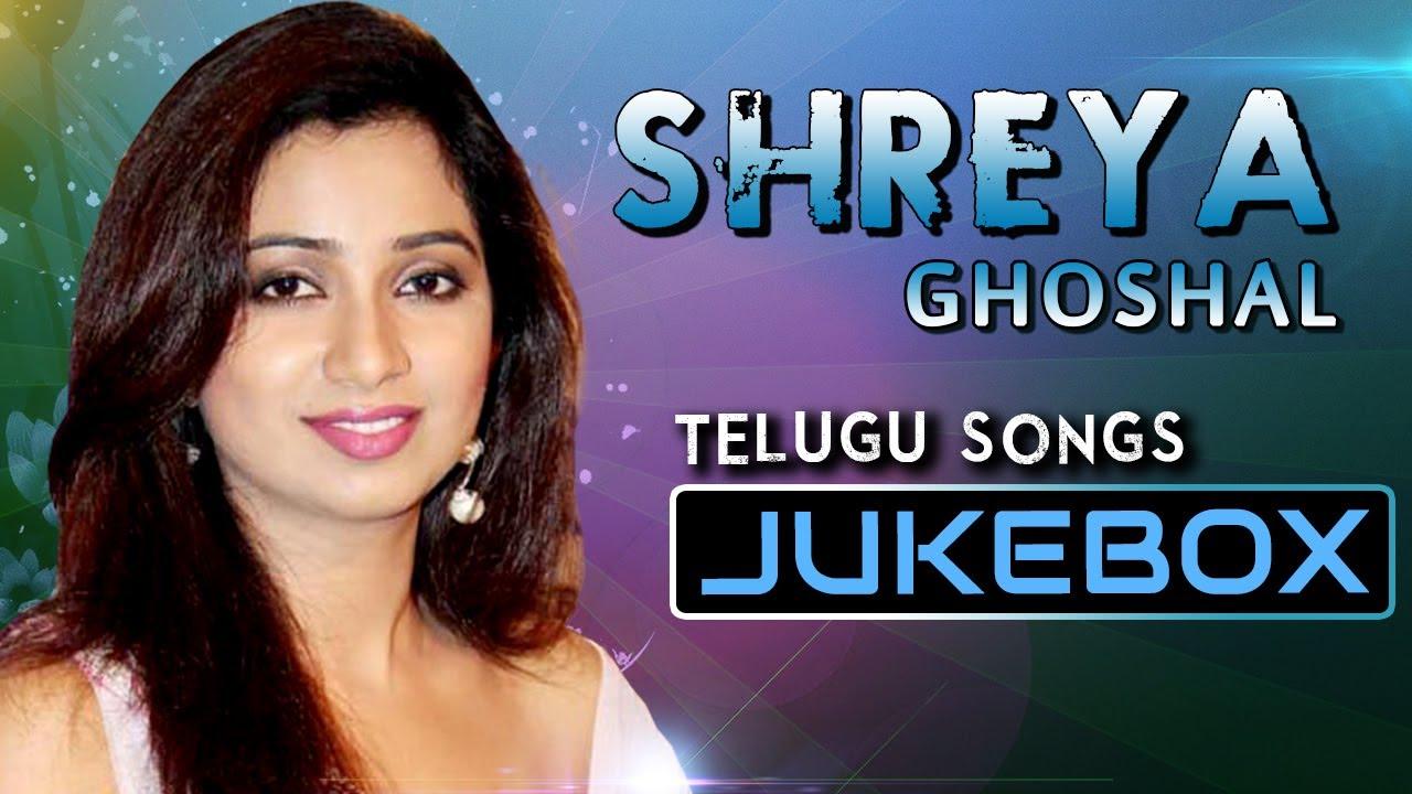 shreya ghoshal telugu hit songs tollywood top stars