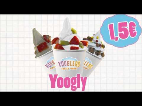 Llega tu Yooglers Frozen Yogurt con el precio más bajo 1'5€