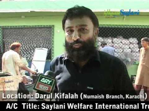 Saylani Collective Qurbani 2011 Ary report