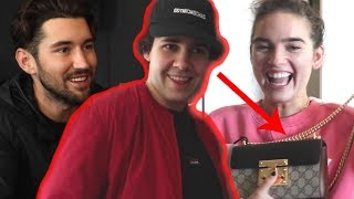 SURPRISING BEST FRIENDS WITH GUCCI GIFTS!!