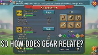 Best Gear Setups for F2P, Mild P2P, and extreme P2P - Lords Mobile