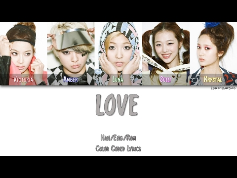 F(X) - LOVE (아이) [Color Coded Han|Rom|Eng]