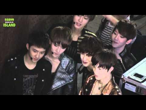120602 EXO-K Genie AR Show Mama Standby fancam