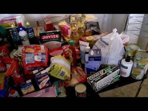 Compras de supermercado do mês de março