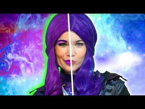 DESCENDANTS 3 MAL TURNS BAD? Mal Dad Hades Teams up with (Queen of Mean Part 1) Totally TV Parody