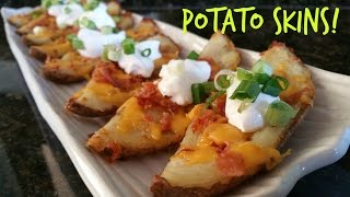 HOW TO MAKE POTATO SKINS