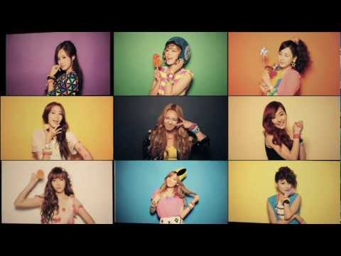 120711 SNSD - Casio Baby-G Making