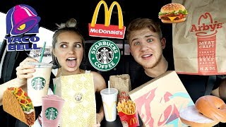 Letting the Person in Front of Me Decide What I Eat For a Day! | Aspyn Ovard