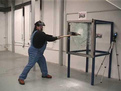 Labock Bullet Proof Glass Vandalism Test Youtube