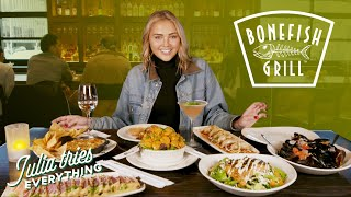 Trying ALL Of The Most Popular Menu Items At Bonefish Grill