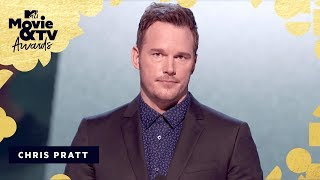 Chris Pratt's 9 Rules Acceptance Speech | 2018 MTV Movie & TV Awards