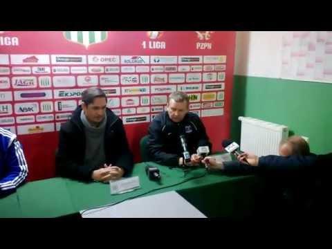 Olimpia Grudziądz - Termalika Nieciecza 0:2 - konferencja prasowa