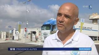 Proviridis : La station GNLC de Fos-sur-Mer à l'honneur sur France 3