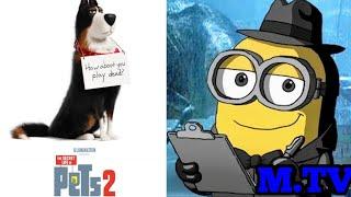Os Minions Assistindo Ao Trailer Do Novo Cachorro De Pets 2