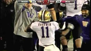 Washington Huskies vs. Washington St. Cougars  Apple Cup 2010