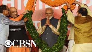 Narendra Modi wins second term as India's prime minister