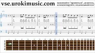 Как играть на Укулеле Silentó - Watch Me (Whip/Nae Nae) Табы um-b821