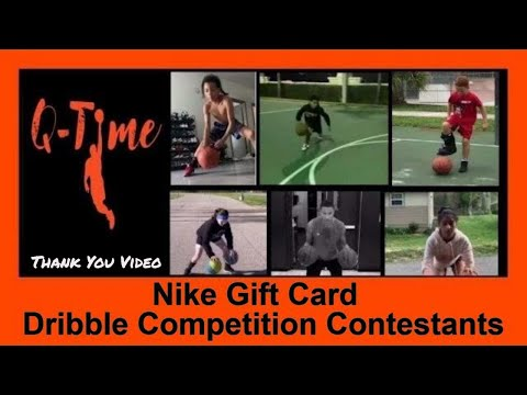 Nike Gift Card Dribble Competition Contestants