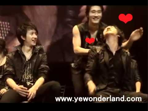 YeWon (Yesung-Siwon)  Moment in Japan 09