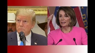 CRAZY NANCY: President Trump UNLOADS On Pelosi and Chuck Schumer