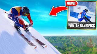 Fortnite WINTER OLYMPICS mode.. Would YOU be able to complete it? (Fortnite Battle Royale)