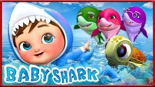 Baby Shark - Banana Cartoon
