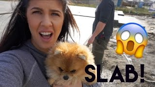 Building Our Dream Home   We Have A Slab!!!!  - Episode 6