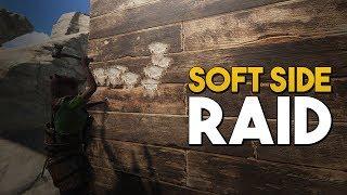 SOFT SIDE RAIDING IS ALWAYS PROFITABLE!! (Rust SOLO Survival Vanilla)
