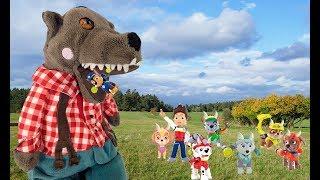 El lobo y los 7 cabritos. Patrulla canina en español cuento infantil completo