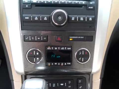 Chevy Traverse   Climate, Tri Zone Rear Controls