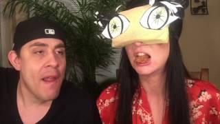 Blindfolded Asian Food Challenge