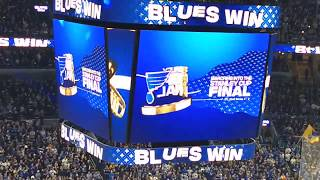 Play Gloria!  - 2019 Western Conference Champion St Louis Blues