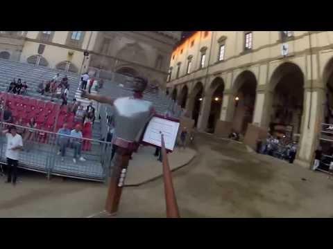 Con la GoPro i tiri visti ... a cavallo