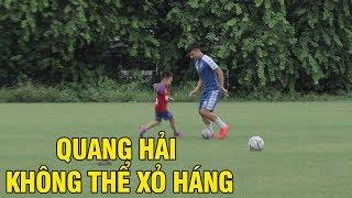 Con trai Thành Lương khiến cả Duy Mạnh lẫn Quang Hải phải chịu thua không thể xỏ háng
