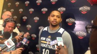 Pelcians guard Eric Gordon says Thursday's overtime loss was emotionally draining | Video