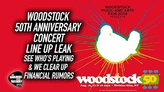Woodstock 50 Line Up Leak