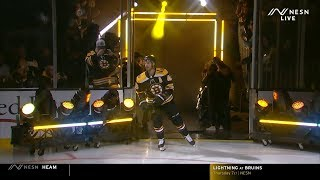 Boston Bruins 2019 Home Opener Introductions 10/12/19