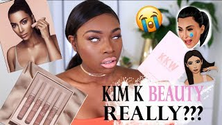 KIM KARDASHIAN BEAUTY...REALLY? A KKW BEAUTY FIRST IMPRESSIONS YOU MIGHT NOT WANT TO WATCH!