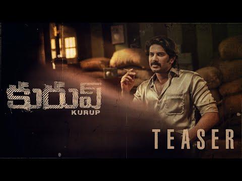 Kurup Telugu teaser-Dulquer Salmaan, Sobhita Dhulipala