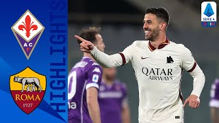 Fiorentina 1-2 Roma   Roma secure victory with last minute goal!   Serie A TIM